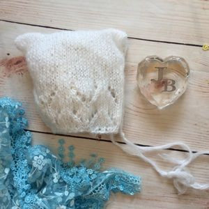 Other - Baby Newborn Photo Prop Mohair Hat